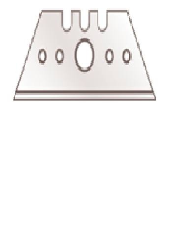 TRAPEZOID BLADE 5232